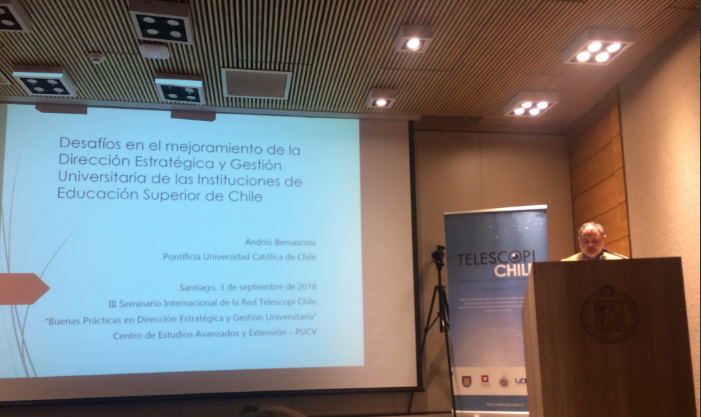 Seminario Telescopi Chile